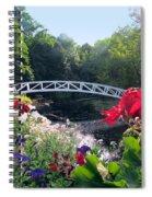 Somesville Bridge And Home Spiral Notebook