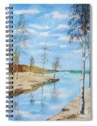 Somewhere In Dalarna Spiral Notebook