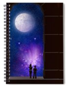The View To Infinity Spiral Notebook