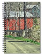 Somewhere In Vermont Spiral Notebook