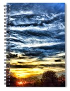 Somewhere On Earth Spiral Notebook