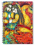 Sonata For Two And Unicorn Spiral Notebook