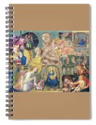 Song Of Angels II Spiral Notebook