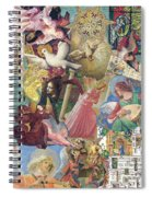 Song Of Angels Spiral Notebook