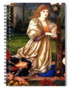 Song Of Love Spiral Notebook