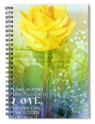Song Of Solomon 8 7 Spiral Notebook