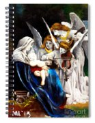 Song Of The Angels By Bouguereau Spiral Notebook