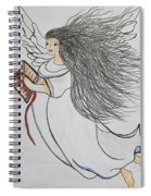 Songs Of Angels Spiral Notebook