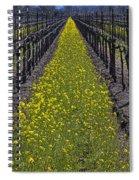 Sonoma Mustard Grass Spiral Notebook