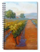 Sonoma Vineyard Spiral Notebook