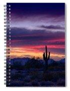 Sonoran Desert Skies  Spiral Notebook