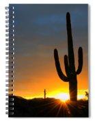 Sonoran Desert Sunrise 4 Spiral Notebook