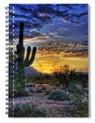 Sonoran Sunrise  Spiral Notebook
