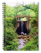 Soothing Cascade Spiral Notebook