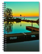 Soothing Sunset Spiral Notebook