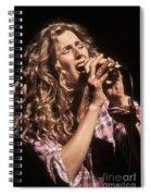 Sophie B Hawkins Spiral Notebook
