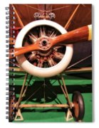 Sopwith Camel Airplane Spiral Notebook
