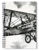Sopwith F.1 Camel 1917 Spiral Notebook