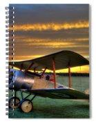 Sopwith Sunset Spiral Notebook
