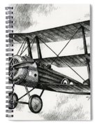 Sopwith Triplane 1917 Spiral Notebook