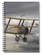 Sopwith Triplane Spiral Notebook