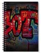 Sot Graffiti - Lisbon Spiral Notebook