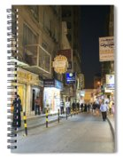 Souk In Central Manama Bahrain Spiral Notebook