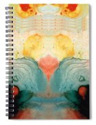 Soul Star - Abstract Art By Sharon Cummings Spiral Notebook