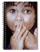 Soul Tears Spiral Notebook