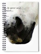 Soul Touch - Emotive Horse Art By Sharon Cummings Spiral Notebook