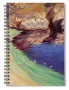 Soulful Sanctuary Point Lobos Spiral Notebook