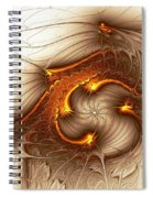 Souls Of The Dragons Spiral Notebook