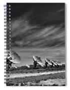 Sound Waves Spiral Notebook