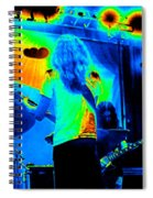 Soundcheck #11 Enhanced Cosmicolors 1 Crop 2 Spiral Notebook