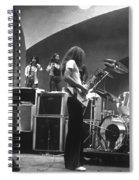 Soundcheck #8 Crop 2 Spiral Notebook