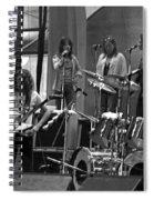 Soundcheck #9 Crop 2 Spiral Notebook
