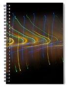 Soundcloud. Dancing Lights Series Spiral Notebook