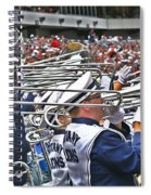 Sounds Of College Football Spiral Notebook