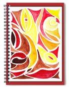 Sounds Of Color Doodle 2 Spiral Notebook