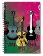 Sounds Of Music - Featured In Newbies Group Spiral Notebook