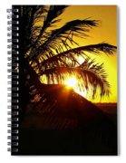 Sour Sunset Spiral Notebook