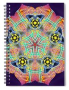 Source Fabric K3 Spiral Notebook