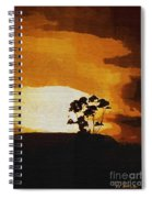 South African Sky Spiral Notebook