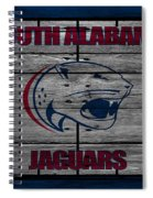 South Alabama Jaguars Spiral Notebook