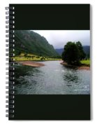 South America - Chile River Spiral Notebook