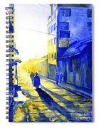 South American Sunrise Spiral Notebook