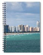 South Beach On A Summer Day Spiral Notebook