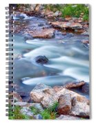South Boulder Creek Little Waterfalls Rollinsville Spiral Notebook