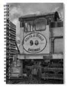 South Buffalo Railway  7d06191b Spiral Notebook