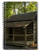 South Carolina Log Cabin Spiral Notebook